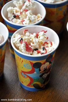 Mickey Mouse Popcorn Recipe