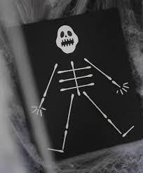 Bildresultat för halloween pyssel skelett