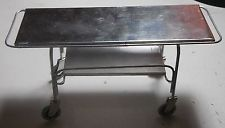 Dollhouse miniature handcrafted 1//12th scale Black medical screen morgue Funeral