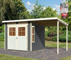 Konifera Gartenhaus Falkensee 4 Bxt 444x236 Cm Set Online Kaufen Otto Gartenhaus Gartenhaus Holz Gartenhaus Grau