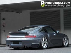 Bagged Porsche 996?  yes please.