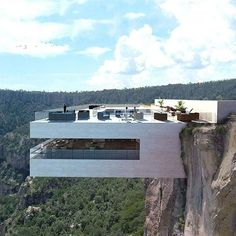 #hypelife: Would you dine at this luxe concept restaurant that's built over the edge of a cliff? The Biré Bitori restaurant by Tall Arquitectosis is designed to provide stunning panoramic views of Mexico's Copper Canyon.