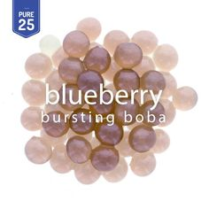 Resembling the look of real blueberry, Blueberry Bursting Boba® brings even more fun and juice to bubble tea, frozen yogurt and dessert drink experiences. Blueberry Juice, Lemon Detox, Dessert Drinks, Party Drinks, Tea Powder, Bubble Tea, Frozen Yogurt, At Least, Bubbles