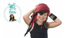 Cómo hacer un disfraz casero de pirata - Manualidades para niños - Juegos y fiestas - Guia del Niño