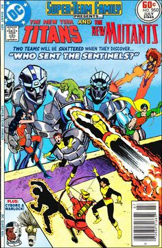 Super-Team Family: The Lost Issues!: The New Teen Titans and The New Mutants