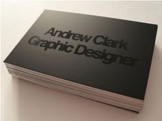 Dribbble - Business Card Design by Andrew Clark