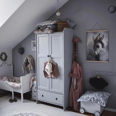 Girls' Rooms with Grey - with pink details or backdrop, Scandinavian style, colourful décor.Check out these inspirational rooms! hacks for teens girl should know acne eyeliner for hair makeup skincare