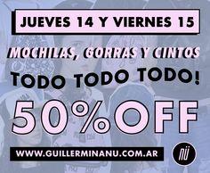 Exclusivo showrooms Belgrano y Rosario! www.guillerminanu.com.ar
