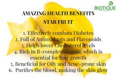 - Health Benefits of Health And Wellness, Health Tips, Health Fitness, Healthy Mind And Body, How To Stay Healthy, Starfruit Benefits, Fruit And Vegetable Diet, Fruit Facts, Blood Type Diet