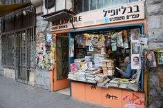 Used Books, Tel Aviv, Israel | http://writersrelief.com