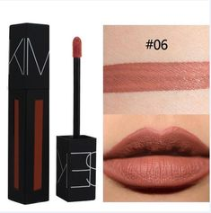 Professional Makeup Matte Lip Liquid Tint Lipstick Sexy Colors Waterproof Lip Stick Long Lasting Lip Gloss Make Up 2018 Products Tint Lipstick, Lipstick Colors, Liquid Lipstick, Lip Colors, Rouge Makeup, Lip Makeup, Long Lasting Lip Gloss, Matte Lip Gloss, Make Up