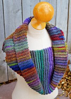 crochet pattern - fast and easy cowl