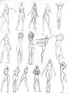 Figure Drawing Poses Poses Mujer by CeciiLottersberger on DeviantArt - Drawing Body Poses, Human Anatomy Drawing, Human Figure Drawing, Figure Sketching, Figure Drawing Reference, Art Reference Poses, Human Figure Sketches, Gesture Drawing, Drawing Tips