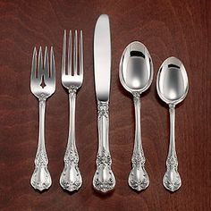 Sterling Flatware - Towle - Old Master- Towle Old Masters Sterling...This is my favorite sterling...passed down from my grandmother to my mother to me... all of it lost in Hurricane Sandy. We will definitely replace this over time! Love it!!
