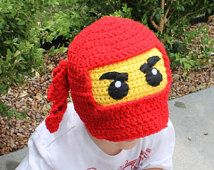 Ninja Hat  ALL sizes from Newborn  to Adult ANY color