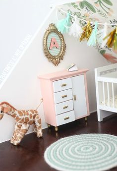 amazing DIY dollhouse by craftiness is not optional-tons of EASY ideas for accessories