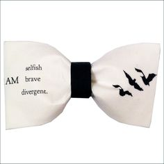 Divergent Inspired Dauntless Tris Hair Bow or Bow by GeekWithMe, $11.99