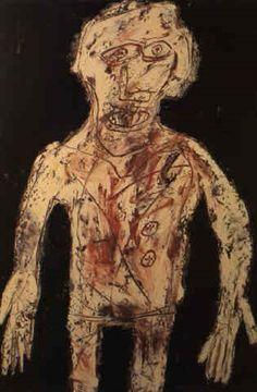 Le majordome par Jean Dubuffet Modern Art, Contemporary Art, Jean Dubuffet, Art Brut, Naive Art, Kandinsky, Outsider Art, Abstract Sculpture, Glyphs