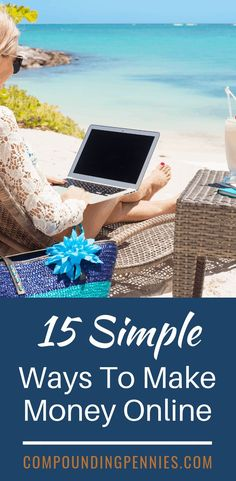 13 Incredibly Easy Ways To Make Money Online | Are you looking for ways to make money? I found this post with 13 incredibly easy ways to make money online. Most only require a few minutes a day but you can make money fast doing them. Click through to find one that works for you! #MakeMoney #MakeMoneyOnline #PersonalFinanceTips