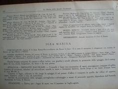 """#Igeamarina #Allinclusive dal 1933: """"Capanne di legno collocate in fila lungo la spiaggia il cui prezzo d'affitto è compreso in quello dei villini: tende a vela ed ombrelloni."""""""