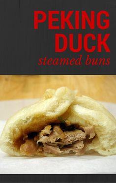 Mario Batali was inspired by Iron Chef Masaharu Morimoto to make Peking Duck Steamed Buns while in Orlando, Florida at the Walt Disney World Resort for the International Food and Wine Festival.
