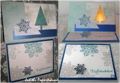 Weihnachten Teelichtkarte