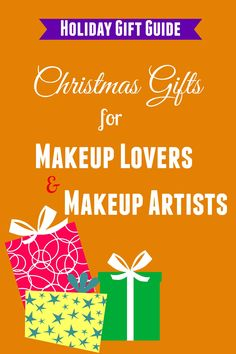 Christmas gifts for makeup lovers & makeup artists  #christmasgifts #makeup #holidaygifts