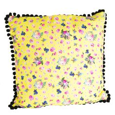 I'm a beautiful Betty, I'm big and chunky and come in four sweet shop colours, fabulous for floors, sofa's or sitting up in bed.The betty floor cushion comes in four sweet shop colours: strawberry lace, sherbet lemon, mint cream and sherbet pip. Totally mix and match.A fabulous floral piece to bring colour and happiness to your home, great for lounging on the floor indoors and out, sitting up in bed or cosy sofa surfing. Betty is handmade in the UK by experts in Lancashire. A beautiful ...