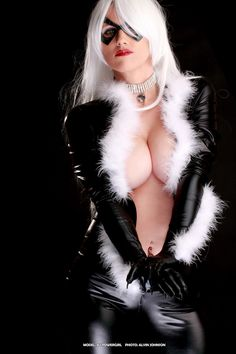 Black cat cosplay | Check out mah Black Cat cosplay. And are you on my facebook fanpage ...