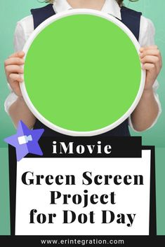 Looking for STEM Dot Day ideas for the classroom? Why not use GREEN dots and make art projects come alive using Green Screen on International Dot Day! This activity uses just green paper and the free app iMovie! No green background needed! Stem Projects, Art Projects, International Dot Day, Library Activities, Green Paper, Green Dot, Lesson Plans, Dots, Classroom