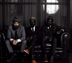 Hats for Fall by GQ Japan Featuring Matteo Gioli (Superduper Hats), Sam Lambert and Shakah Maidoh (Art Comes First).