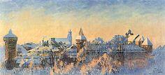 Kraków on the paintings by Julian Fałat (Polish, Classic Paintings, Art Academy, Figurative Art, Impressionism, Still Life, Landscape Paintings, Fine Art, Architecture, Artwork