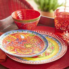 Carnival Brights Melamine Dinnerware | Pier 1 Imports