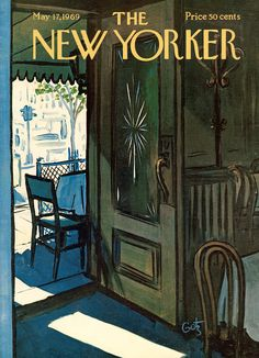 The New Yorker - Saturday, May 17, 1969 - Issue # 2309 - Vol. 45 - N° 13 - Cover by : Arthur Getz