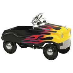 Features:  -Authentic detailing - Brings back memories of old times.  -Adjustable pedal drive - Fits a wide size range of children.  -Functional steering - Provides true performance and easy use.  -So