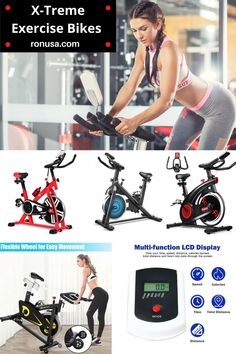 Check out our large selection of home exercise bikes. #exercisebikes #homegymequipment
