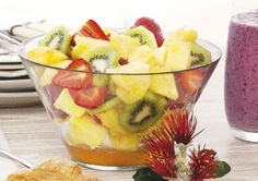 Free fruit salad with vanilla and lime syrup recipe. Try this free, quick and easy fruit salad with vanilla and lime syrup recipe from countdown.co.nz.