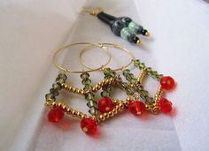 What about wearing a spider web of beads?!//Et si vous portiez une toile d'araignée en perles?!