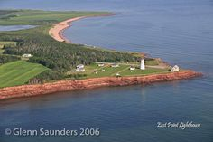 East Point Lighthouse. Courtesy Glenn Saunders photography.