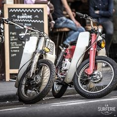 Honda Cub - La Surferie / Wheels and Waves Paris