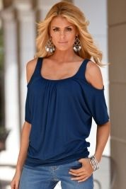 Must-have cold-shoulder top in Fall Trends 2012 from Boston Proper on shop.CatalogSpree.com, my personal digital mall.