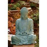 Found it at Wayfair - Large Garden Buddha Statue
