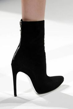 Balmain S13 suede ankle boots