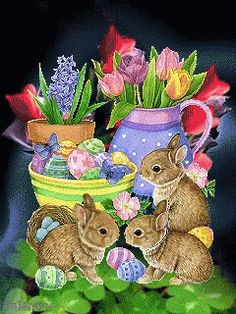 Easter Bunnies easter easter eggs easter decorations easter bunny easter quote happy easter easter gifs easter greeting easter wishes happy easter friends and family animated easter Happy Easter Gif, Happy Easter Quotes, Happy Gif, Easter Art, Easter Crafts, Easter Eggs, Easter Ideas, Ostern Wallpaper, Easter Bunny Pictures