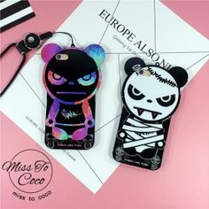 Neues Angebot! Cool 3D Panda silikon Handyhülle für Iphone