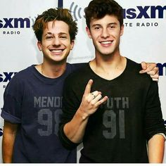 Shawn Mendes And Charlie Puth