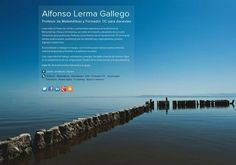 Alfonso Lerma Gallego's page on about.me – http://about.me/AlfonsoLerma
