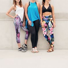 Shop our Tropical Print Legging now! #NEW #LiveBeyond