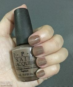 #nails #nailpolish #opi #overthetaupe