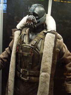 """The Dark Knight Rises""   Bane movie costume by Lindy Hemming"
